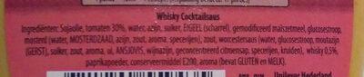 Whisky Cocktail - Ingrediënten