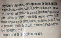 Knorr Soupe Passée aux 9 Légumes 105g 4 Portions Lot de 4 - Ingrediënten - fr