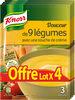 Knorr Soupe Douceur De 9 Légumes Touche De Crème lot de - Product