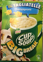 Cup a Soup Big Break Tagliatelle Champignons - Product