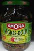 Cornichons aigres-doux aux poivrons, oignons & aromates - Product
