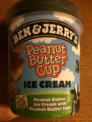 Peanut Butter Cup Ice Cream - Product
