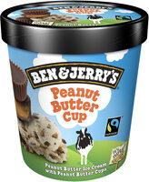 Ben & Jerry's Glace Pot Peanut Butter Cup Cacahuète - Prodotto - fr