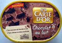 Crème glacée chocolat au lait - Product