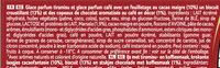 Viennetta Dessert Glace Parfum Tiramisu 7 parts - Ingredients - fr