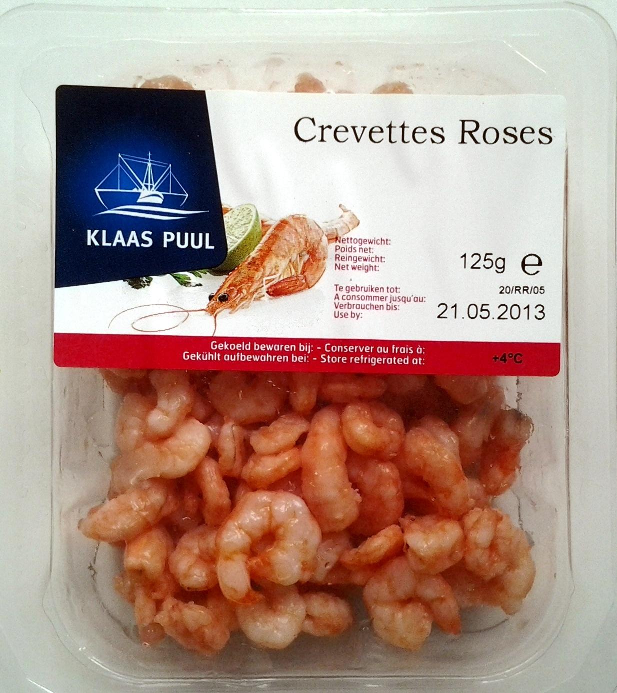 Crevettes roses - Produit - fr