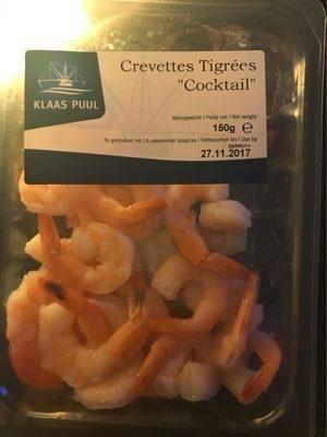 """Crevettes tigrées """"Cocktail"""" - Produit"""