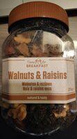 Walnuts & raisins - Product