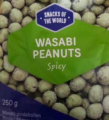 Wasabi peanuts - Product - fr