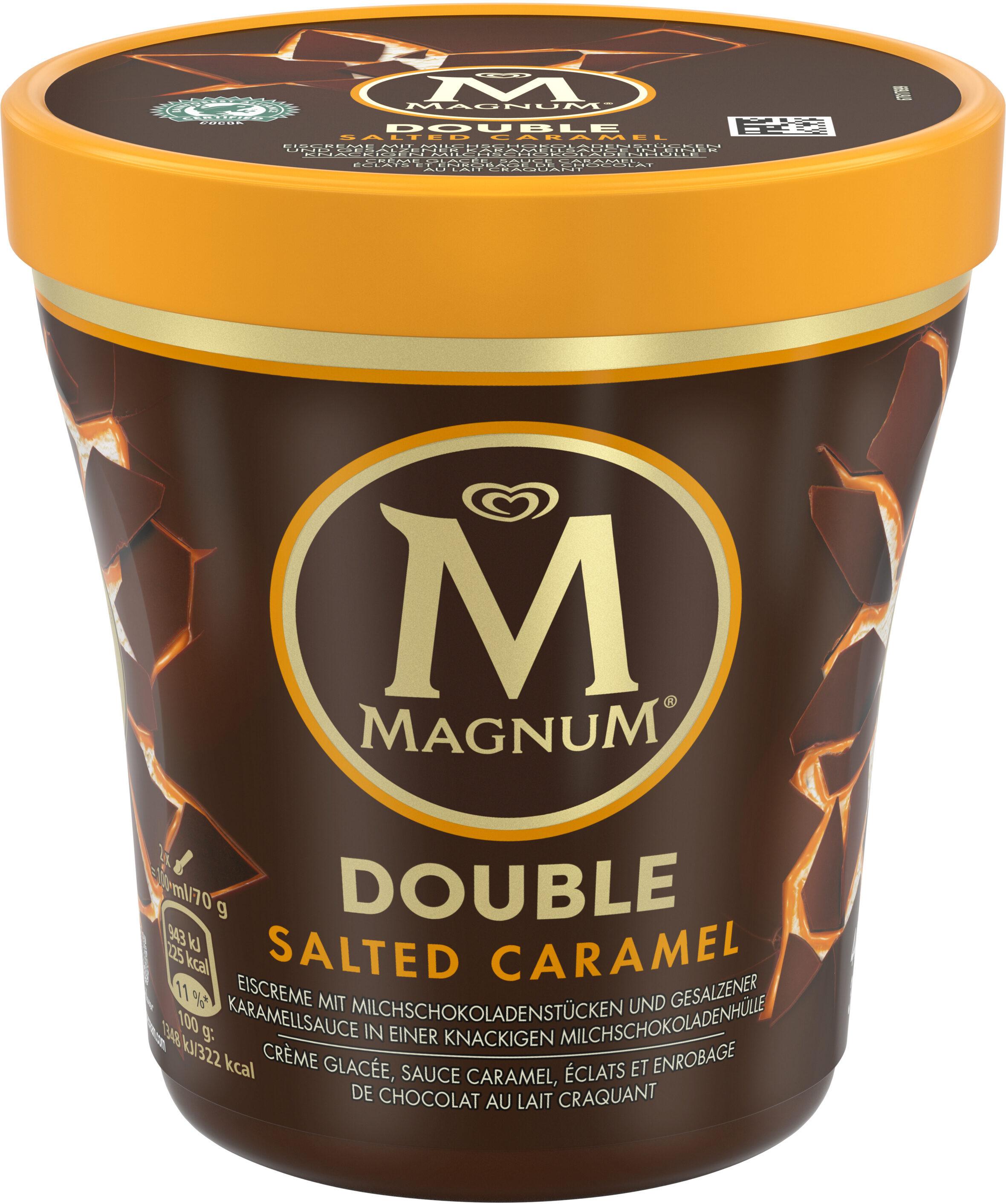 Magnum Glace Pot Double Caramel Salé 440ml - Produit - fr