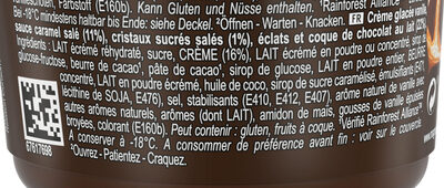 Magnum Glace Pot Double Caramel Salé 440ml - Ingrédients - fr