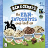 Ben & Jerry's Glace Mini Pots The Fan-Favourites Cool-lection 4x100ml - Product