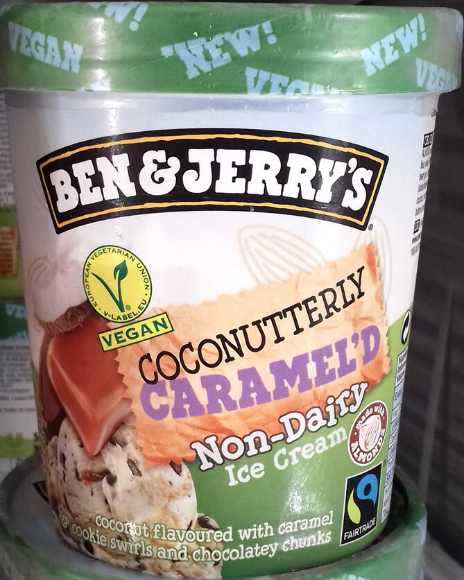 Coconutterly Caramel'd Non-Dairy Ice Cream - Producto