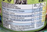 Ben & Jerry's Glace Pot Noix de Coco Caramel - Información nutricional - es