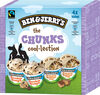 BEN & JERRY'S Glace Pot Mini The Chunks Cool-lection 4x100ml - Produit