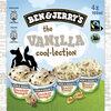 Ben & Jerry's Glace Pot Mini The Vanilla Cool-lection 4x100ml - Produto