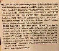 Magnum Glace Batonnet Chocolat Blanc Cookies - Ingrediënten - fr