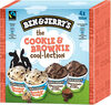 Ben & Jerry's Glace Mini Pots The Cookie & Brownie Cool-lection 4x100ml - Product