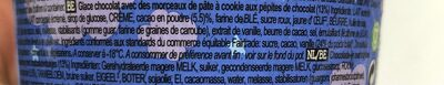 chocolate cookie dough - Ingrediënten - fr