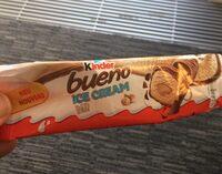 KINDER Bueno Barre Glacée Noisette enrobée de Chocolat au Lait - Produit - fr