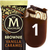Magnum Glace Sandwich Brownie Vanille Caramel 75 ML - Product