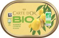Sorbet Bio Citron de Sicile - Prodotto - fr