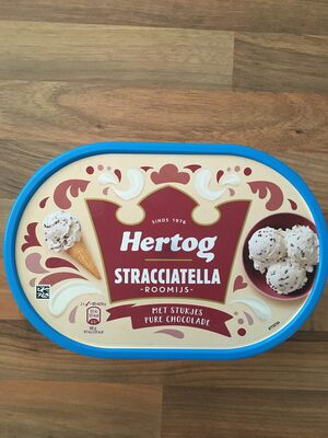 Hertog Stracciatella Roomijs - Product - nl