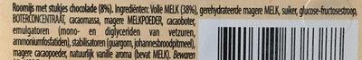 Hertog Stracciatella Roomijs - Ingrediënten - nl