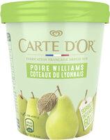 Carte D'or Pot Sorbet Intense Poire Williams Coteaux du Lyonnais 450ml - Prodotto - fr