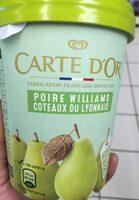 Carte D'or Pot Sorbet Intense Poire Williams Coteaux du Lyonnais - Product - fr
