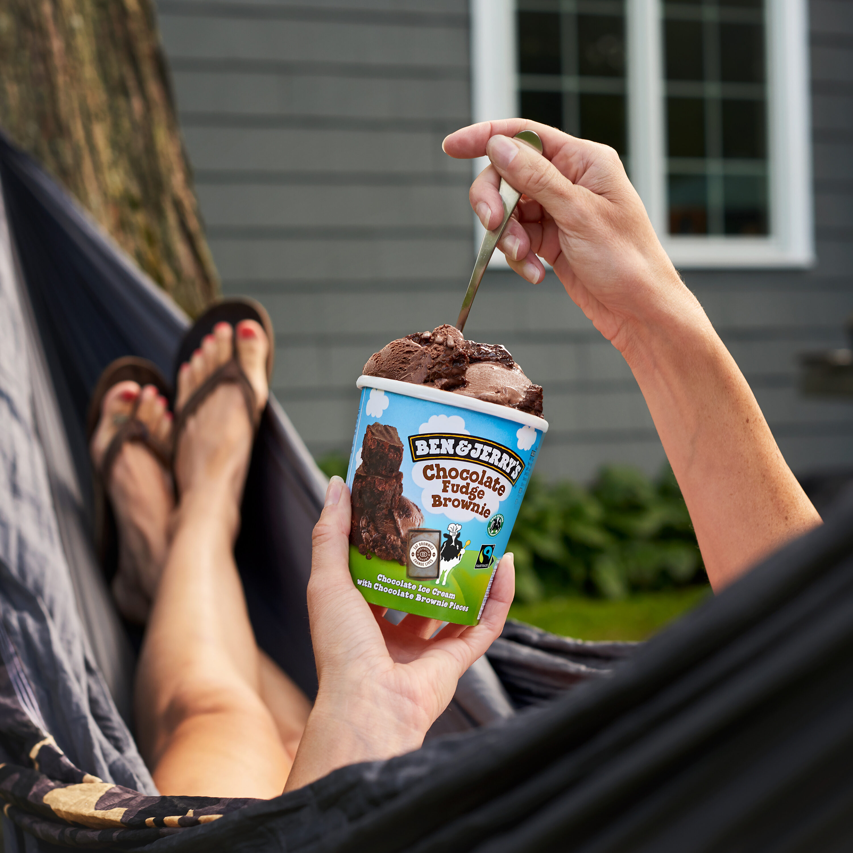 Chocolate fudge brownie - Produit - fr