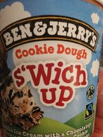 Ben & Jerry's Glace en Pot Cookie Dough S'wich Up - Produkt - fr
