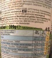 Ben & Jerry's Glace en Pot Peanut Butter Cookies - Informations nutritionnelles - fr