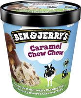 Ben & Jerry's Glace Pot Caramel Chew Chew 465ml - Product - en