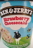 Ben & Jerry's Srawberry Cheescake - Producto - es