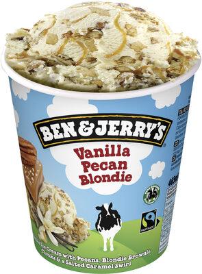 Ben & Jerry's Glace en Pot Vanilla Pecan Blondie 465ml - Produit - fr