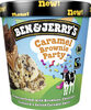 BEN & JERRY'S Glace Pot Caramel Brownie Party 465ml - Product