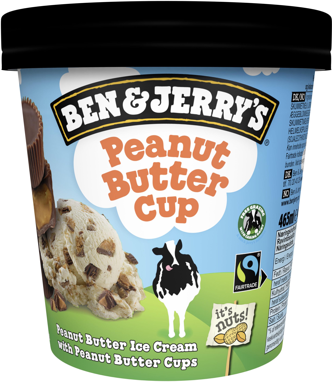 Ben & Jerry's Glace Pot Peanut Butter - Produit - fr
