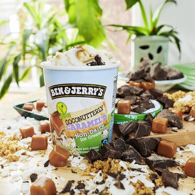 Ben & Jerry's Glace en Pot Vegan Coconutterly Caramel'd - Prodotto - de