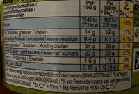 Ben & Jerry's Glace en Pot Vegan Coconutterly Caramel'd - Valori nutrizionali - de
