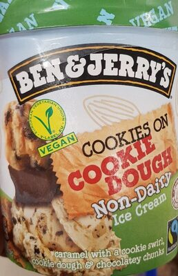 Ben & Jerry's Glace en Pot Vegan Cookies on Cookie Dough - Product - fr