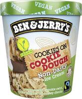 Ben & Jerry's Glace en Pot Vegan Cookies on Cookie Dough 465ml - Product - fr