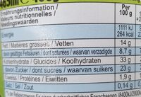 Ben & Jerry's Glace en Pot Vegan Cookies on Cookie Dough 465ml - Nutrition facts - fr