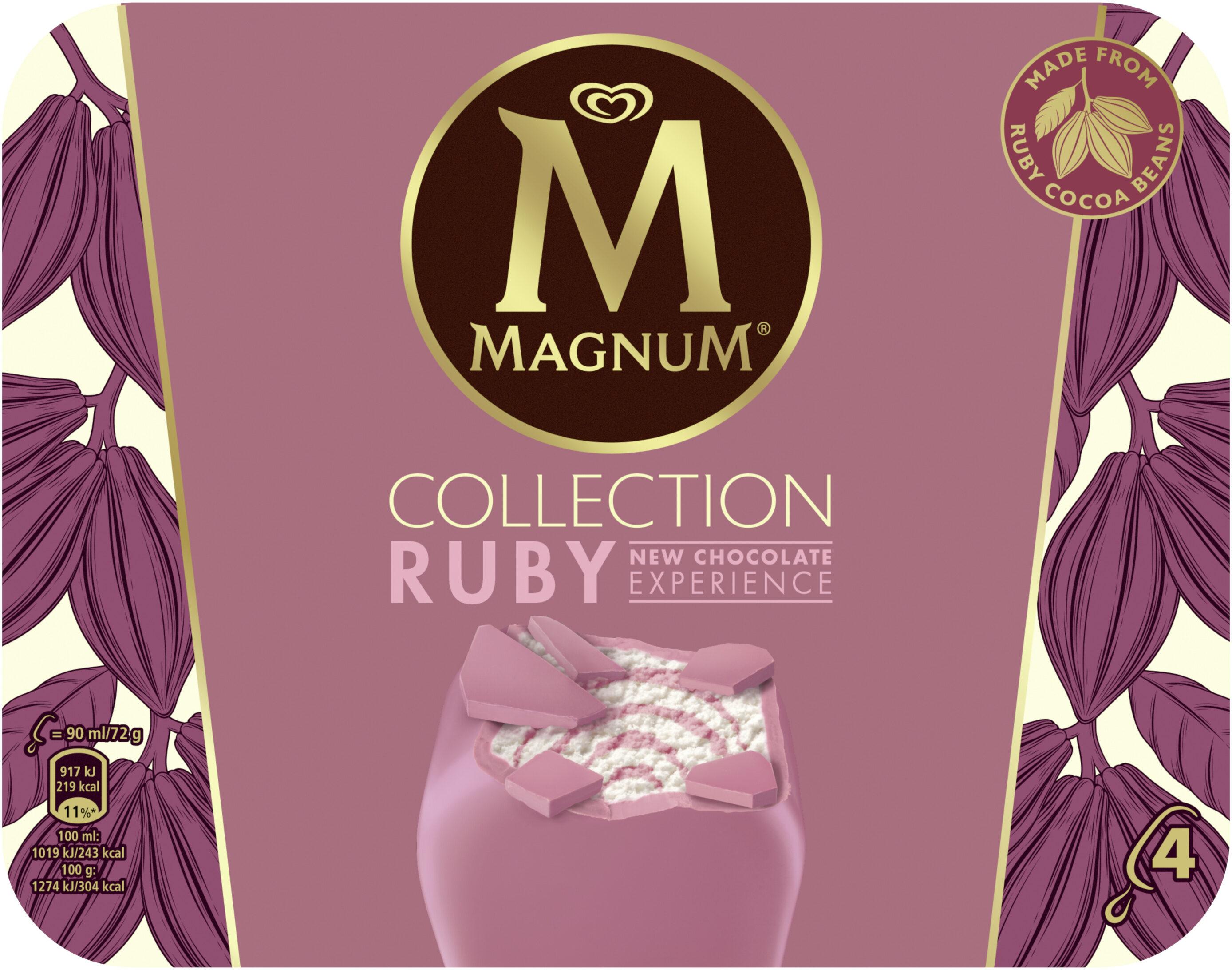 Magnum Glace Bâtonnet Ruby x4 - Produit - fr