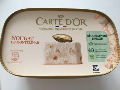 Carte D'or Glace Nougat - Product - fr