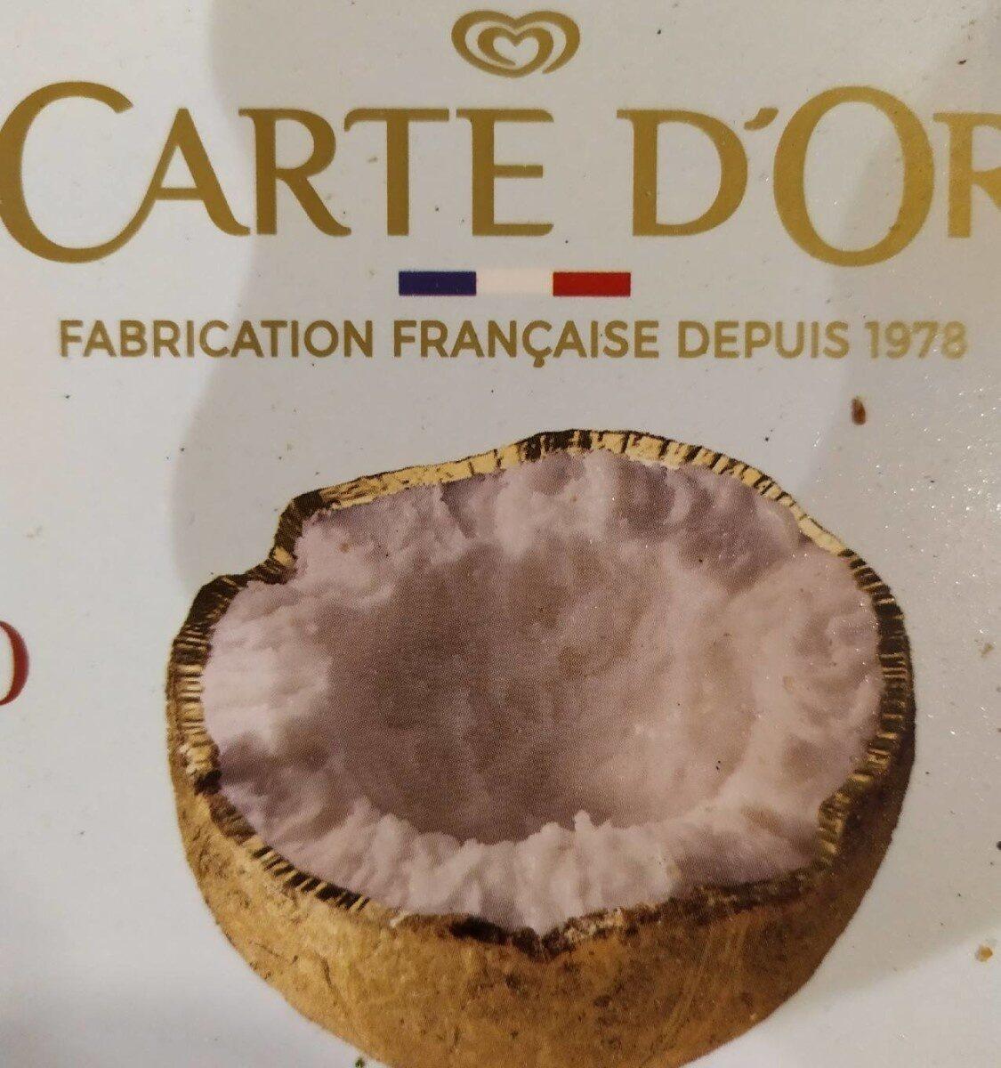 Carte D'or Glace Noix de Coco - Produit - fr