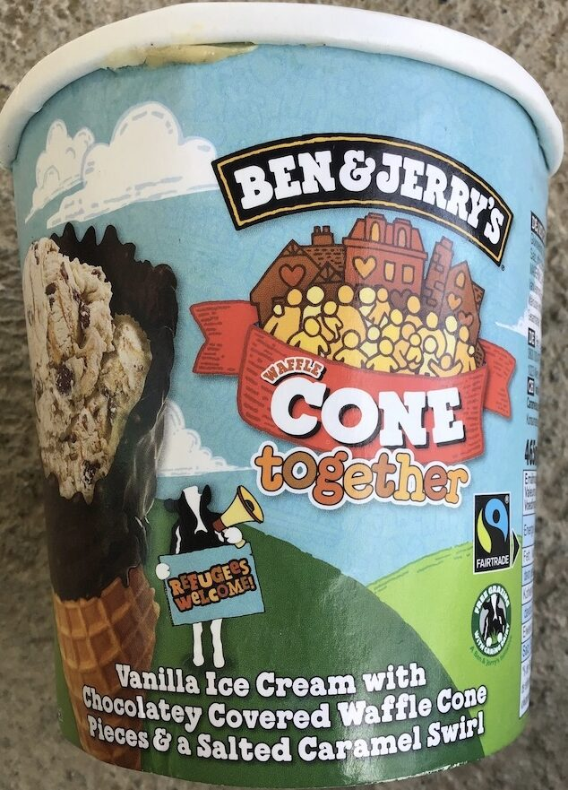 Ben & Jerry's Glace en Pot Cone Together - Producto - es