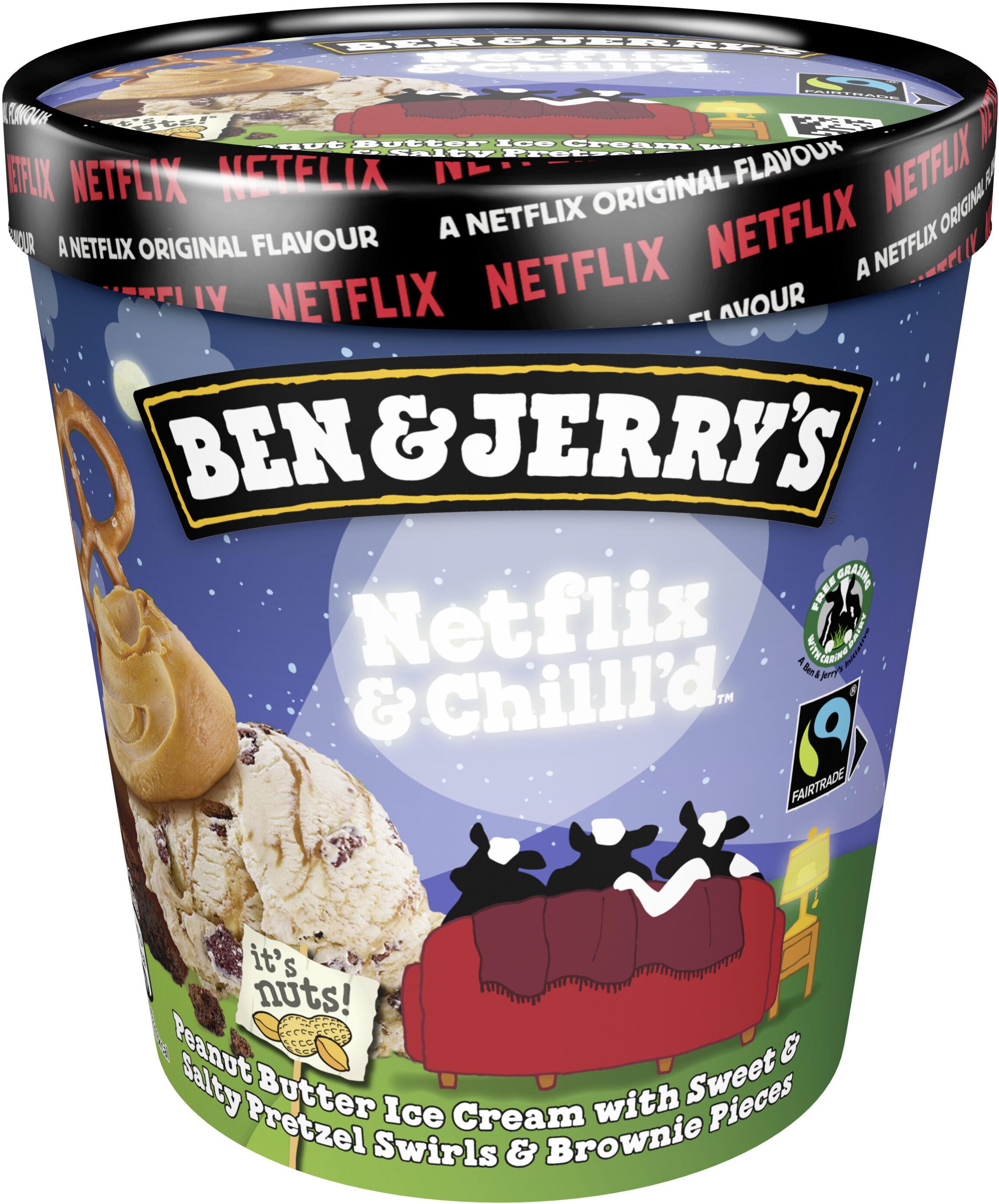 Ben & Jerry's Netflix & Chill'd - Produit - fr