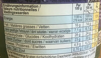 Ben & Jerry's Netflix & Chill'd - Informations nutritionnelles - fr