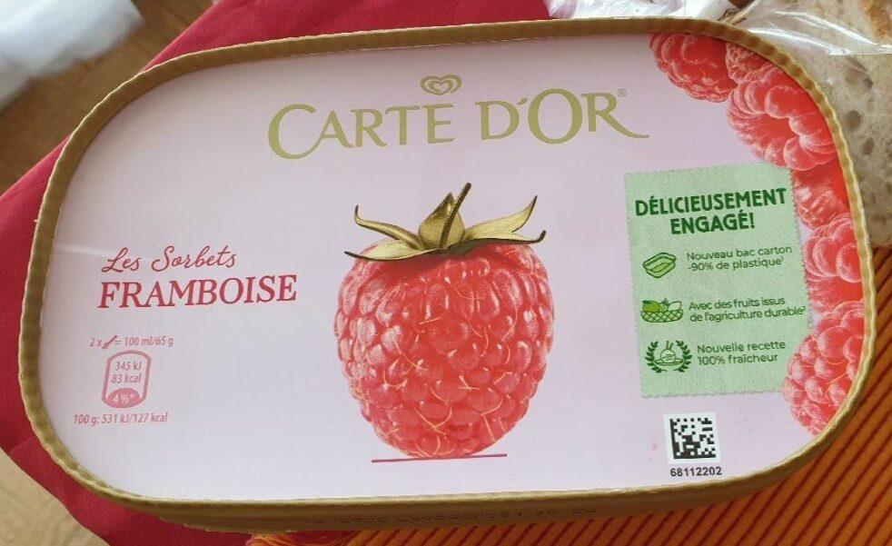 Carte D'or Sorbet Framboise - Produit - fr